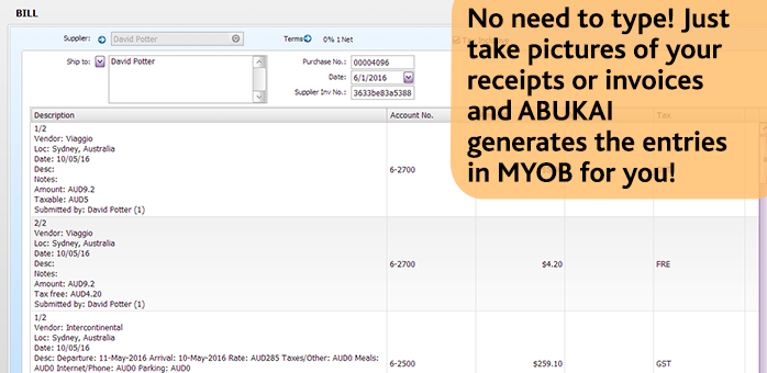 ABUKAI with MYOB AccountRight